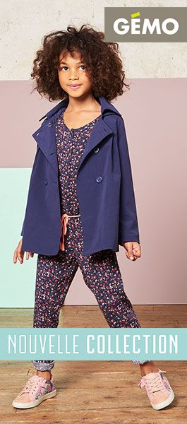 Gemo  nouvelle collection enfant printemps 2017
