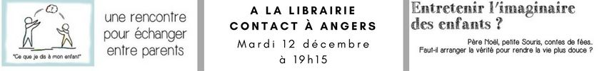 Rencontre de parents a angers a la librairie contact