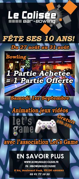 BOWLING LE COLISEE ANGERS