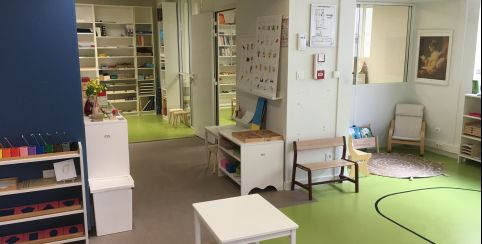 Espace Maria Montessori Angers // école, ateliers et stages // Angers
