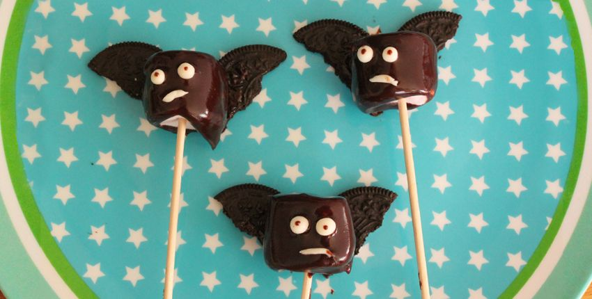 DIY Cuisine // Des Chamallows super-bat pour Halloween !