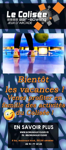 BOWLING LE COLISEE ANGERS SORTIE FAMILLE