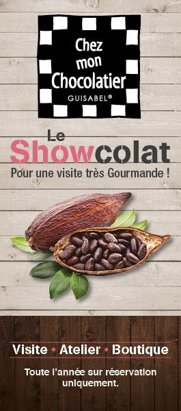 GUISABEL CHOCOLATERIE ARTISANALE CANDE ANGERS CHOLET SEGRE